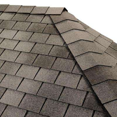 Timbertex English Gray Premium Hip and Ridge Shingles (20 lin. ft. per Bundle)