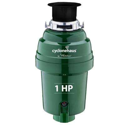 Cyclonehaus 1 HP Continuous Feed Garbage Disposal in Oil Rubbed Bronze