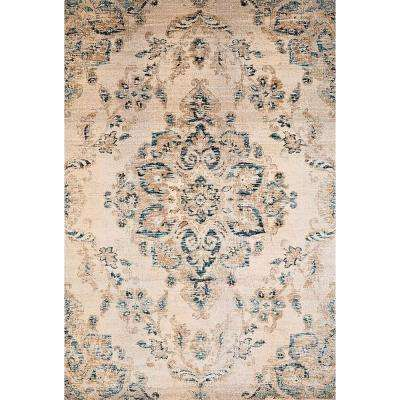 Jules Jubilee Parchment 2 ft. 7 in. x 4 ft. 2 in. Area Rug