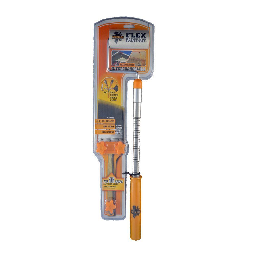 McCauley Brush and Roller Flex Paint Kit