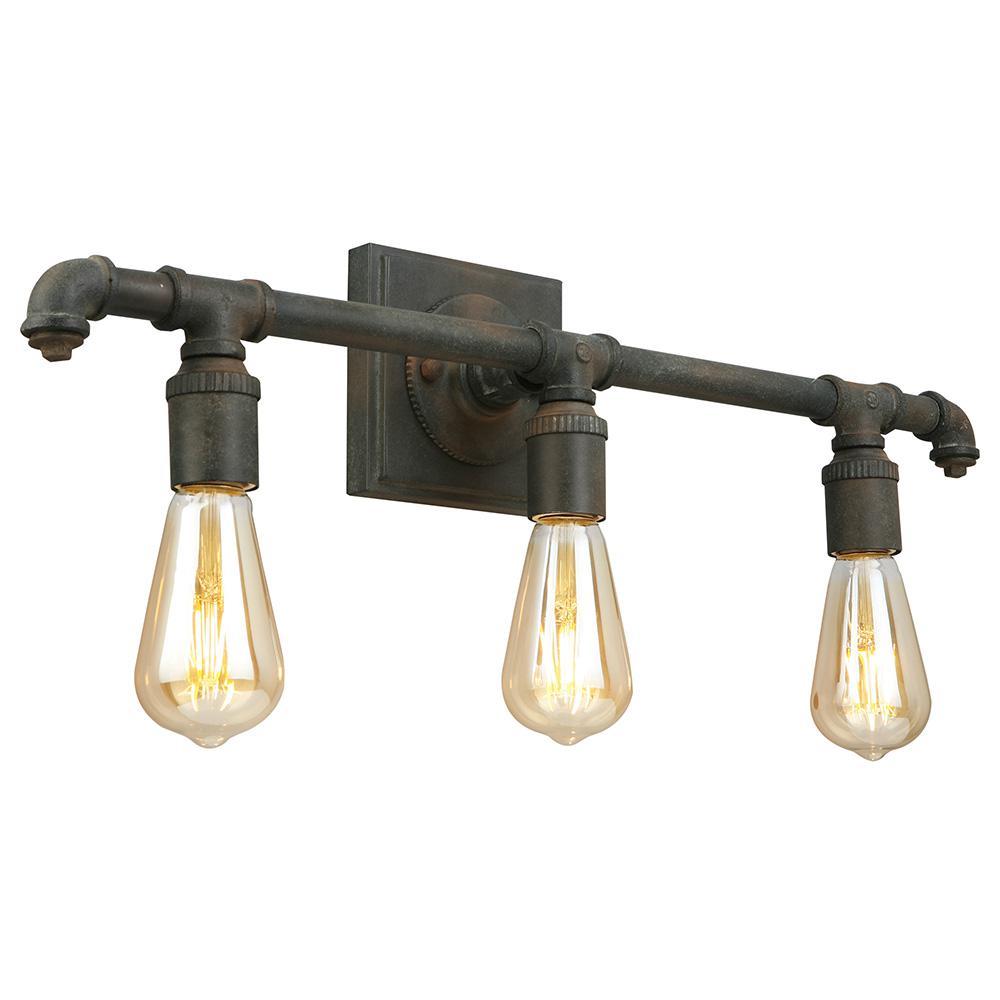 Wymer 3-Light Zinc Bath Light