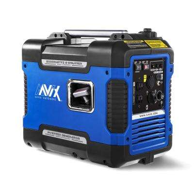 2,000-Watt Gasoline Powered Portable Inverter Generator with Easy Starter and Smart Paralleling, 50 State Compliant