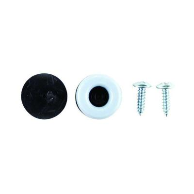 3/4 in. Round Magic Sliders with Screws (8-Pack)
