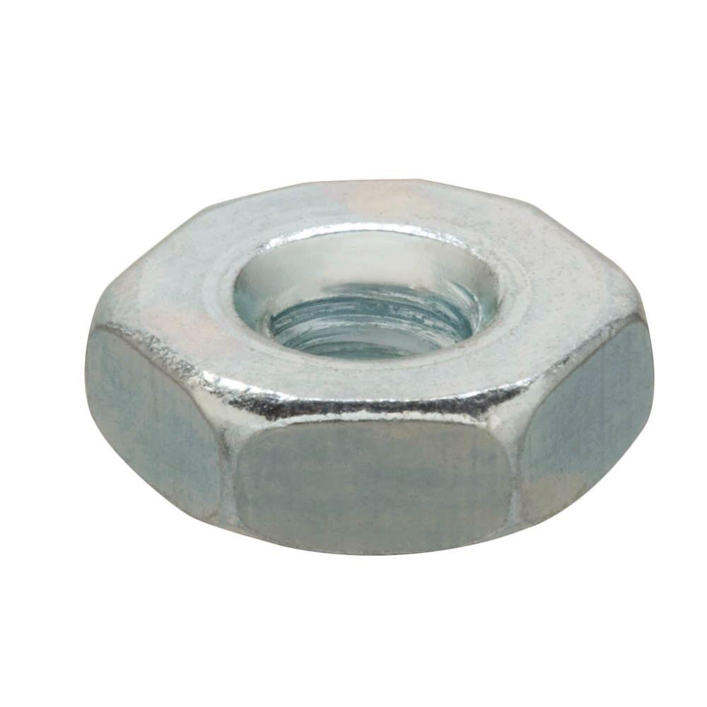 Everbilt #10-32 Zinc Plated Machine Screw Nut (100-Pieces)