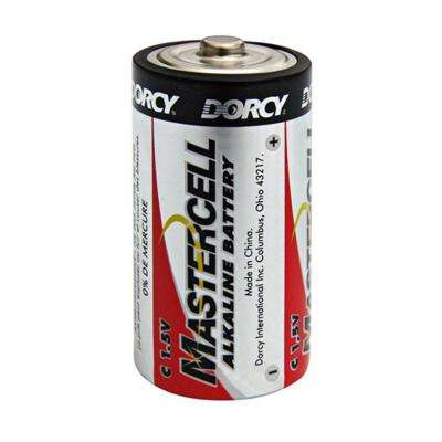 Master Cell Long-Lasting C-Cell Alkaline Manganese Battery (4-Pack)