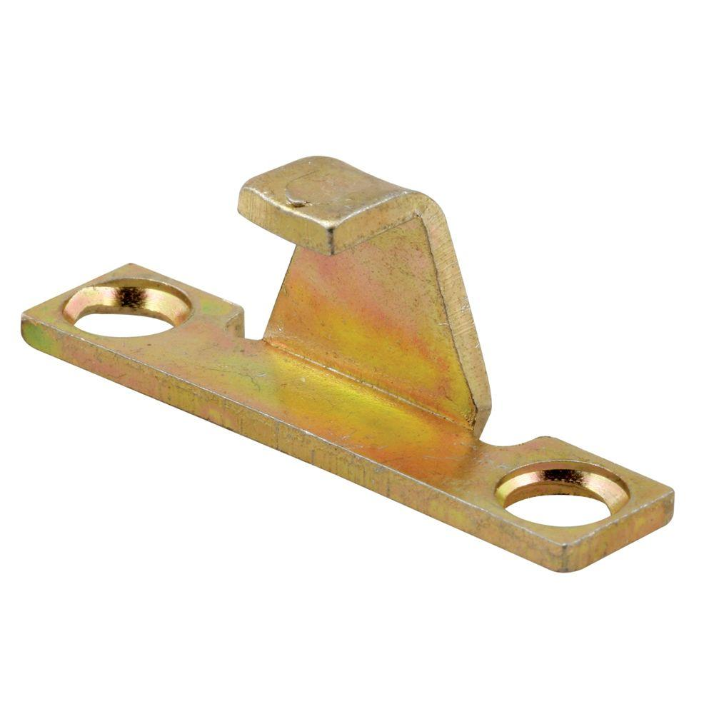 Prime-Line Casement Lock Keeper in Gold Irridite