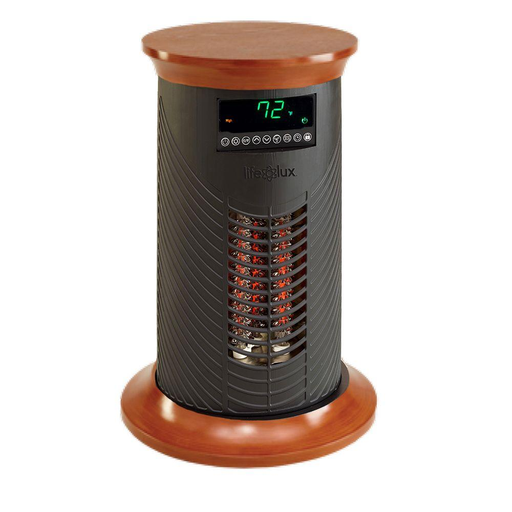 null Lifelux Series 19 in. 1500-Watt Electric All Season Heating and Cooling Tower with Broad-Range Oscillation Technology