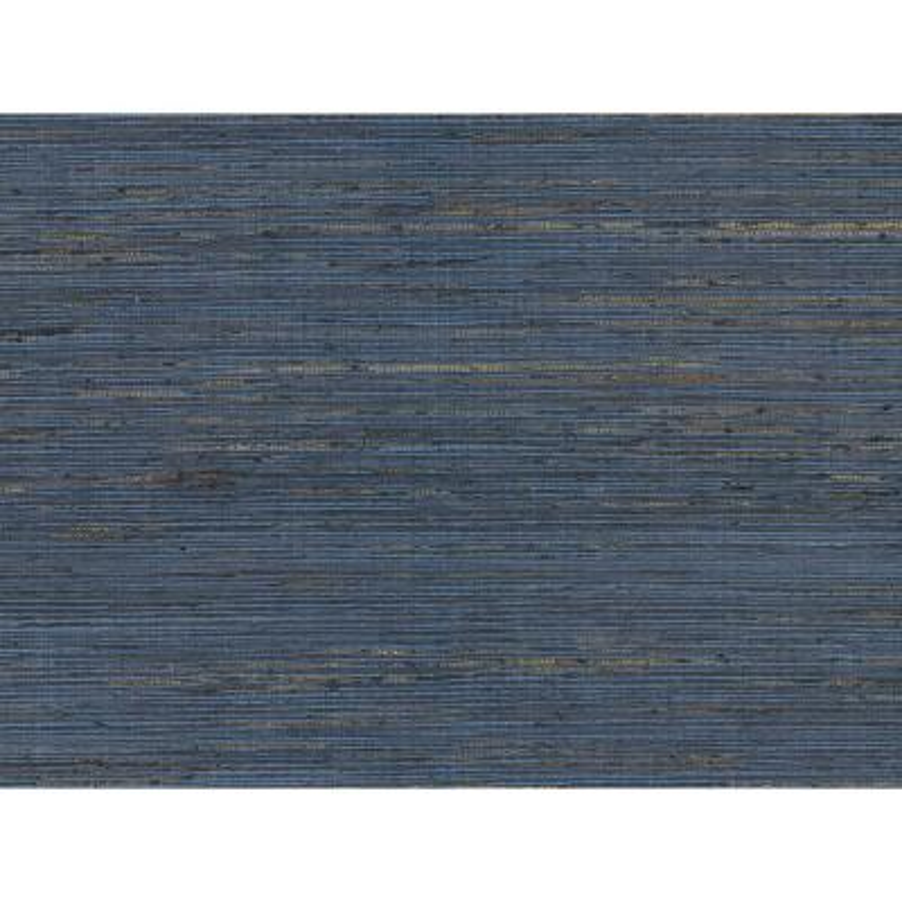 72 sq. ft. Pattini Indigo Grasscloth Wallpaper