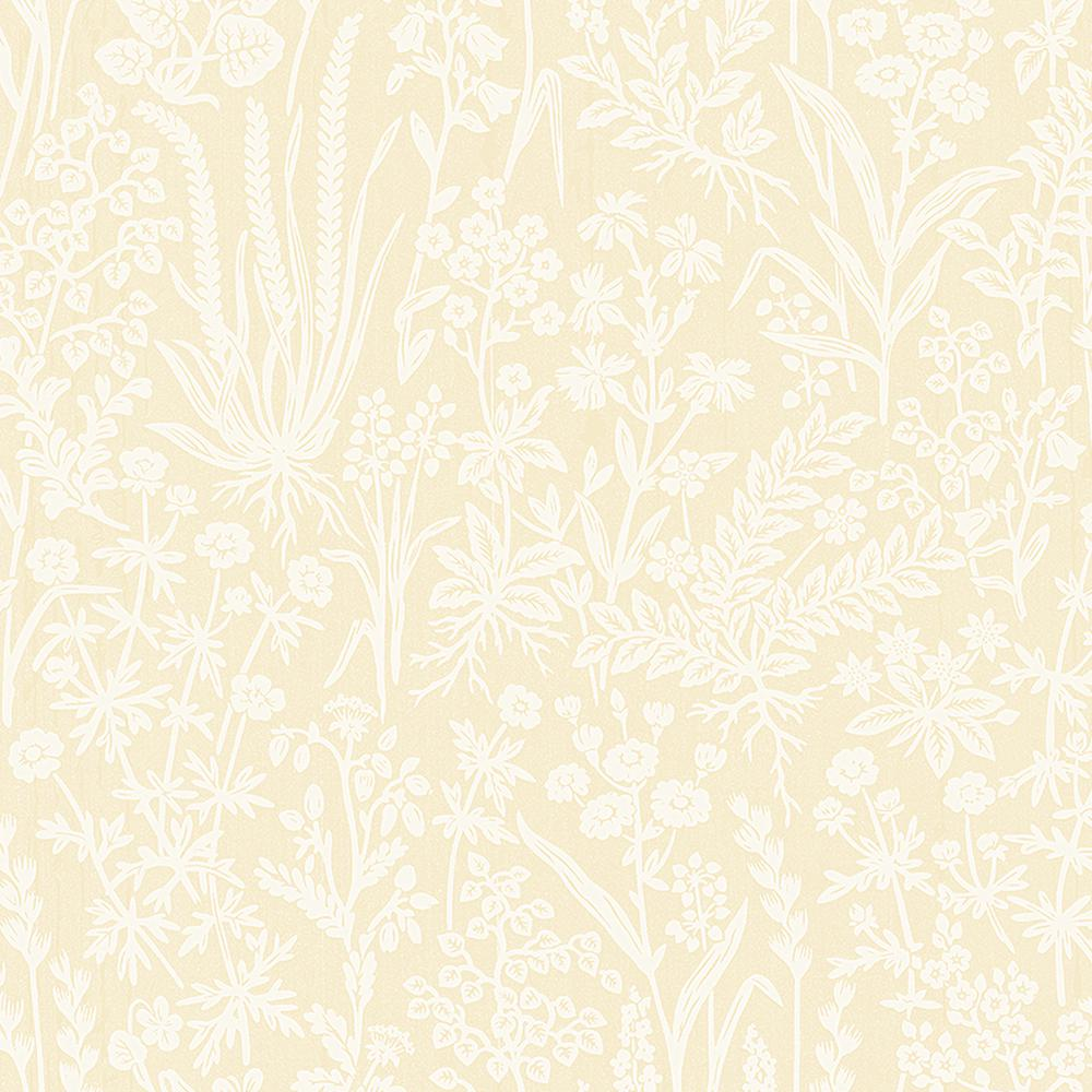 Brianne Yellow Botanical Wallpaper Sd5230 5 The Home Depot