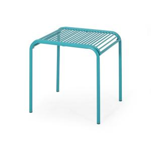 Renewed Adams Manufacturing 8510-36-3700 Quick-Fold Side Table Patriotic Blue