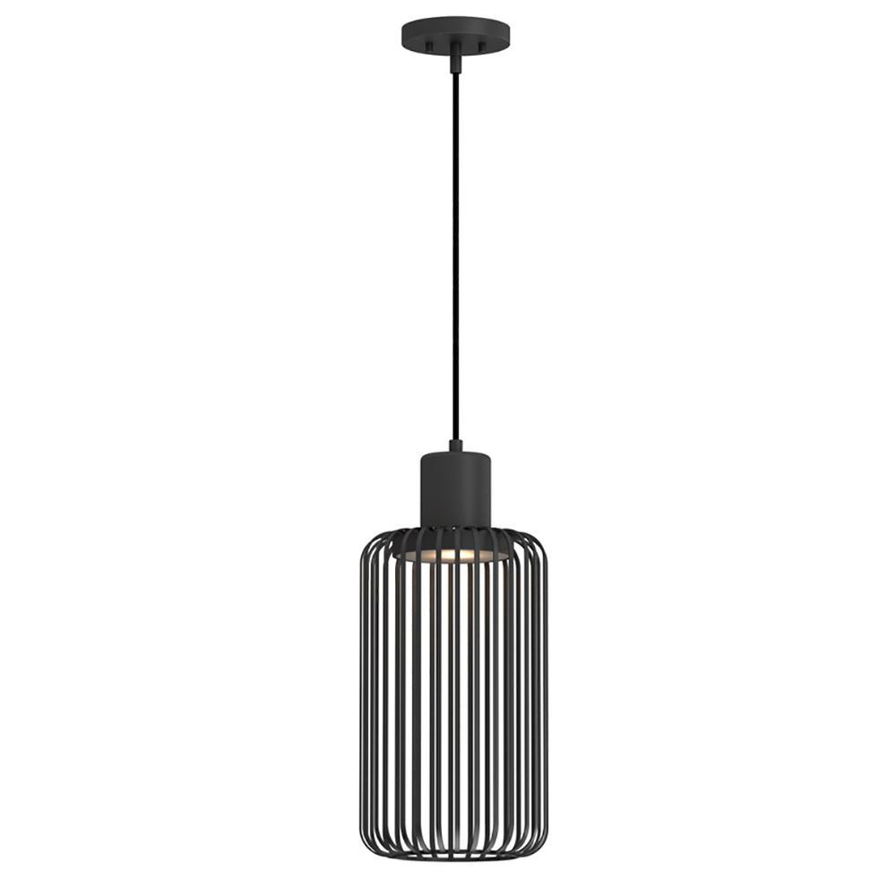 Home Decorators Collection 9.6-Watt Bronze Integrated LED Pendant