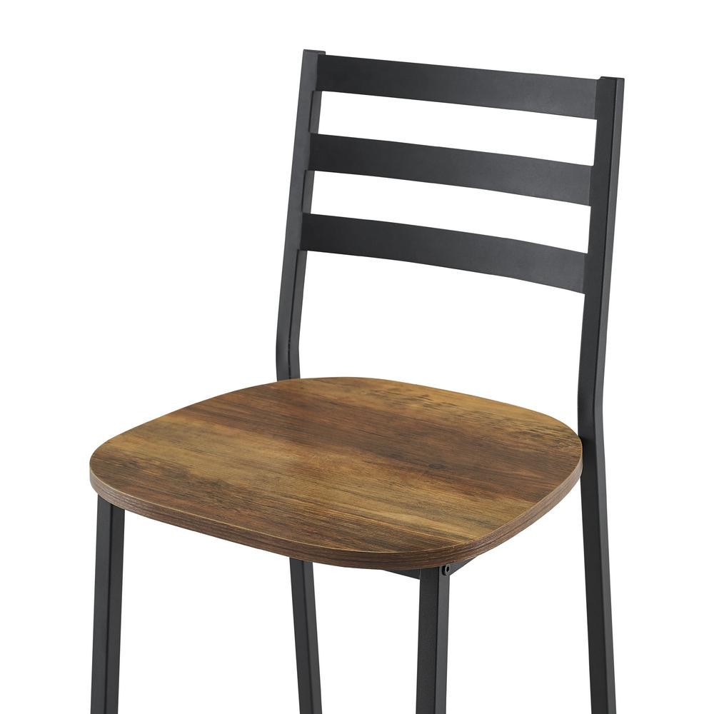 Surprising Welwick Designs 25 5 In H Reclaimed Barnwood Industrial Pdpeps Interior Chair Design Pdpepsorg