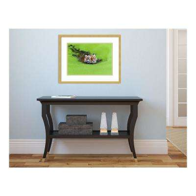 23 in. W x 18 in. H 'Relaxation' by Keller Printed Framed Wall Art
