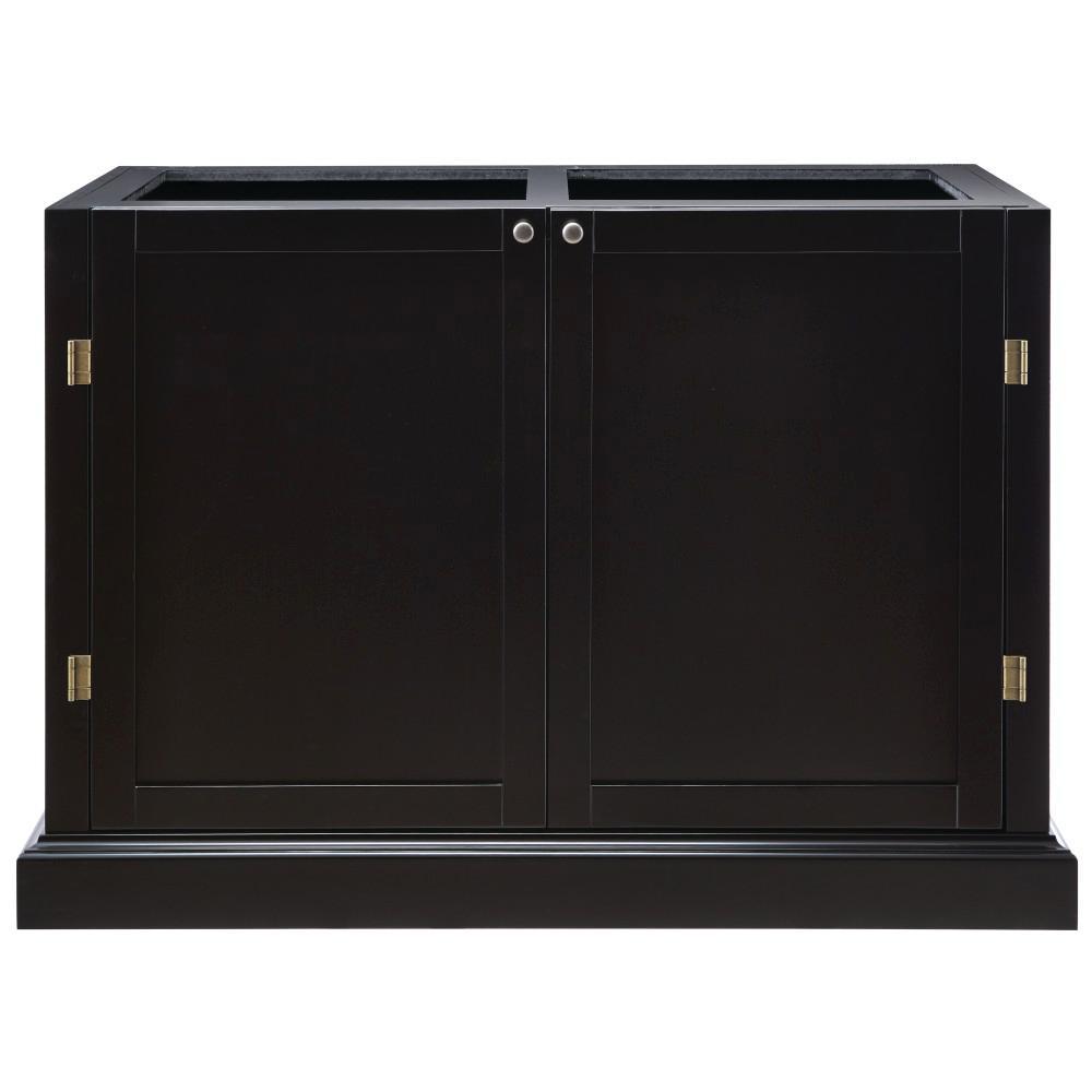 Prescott Black Modular 2-Shelf Pantry Base