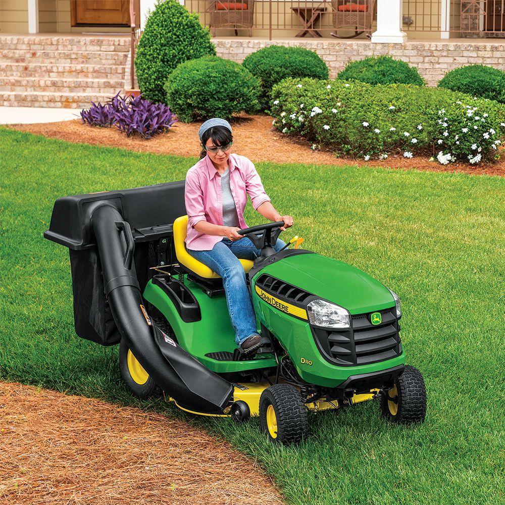 John Deere 100 Series >> John Deere 42 In Twin Bagger For 100 Series Tractors