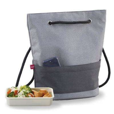 Urban Black Lunch Bag