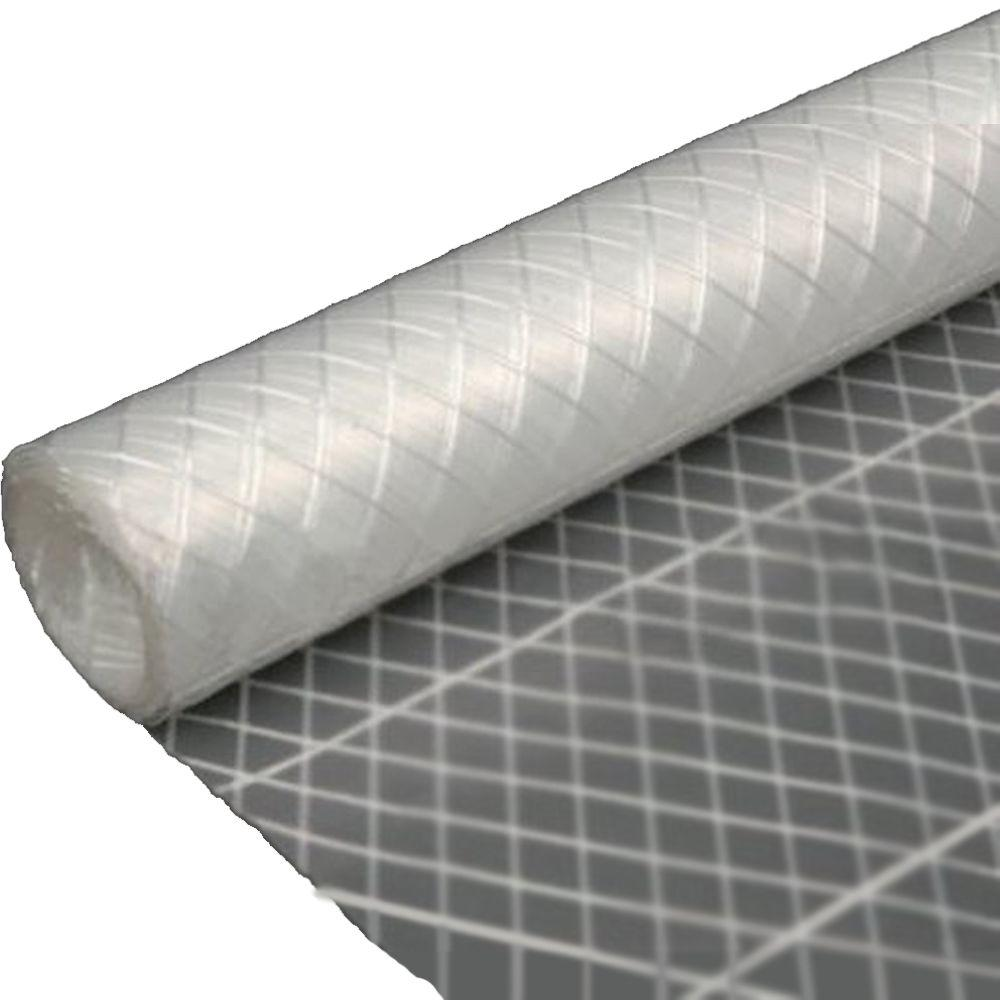 Plastic String Reinforced Poly Sheeting 10 x 100 6 Mil Trasparent Visqueen Roll