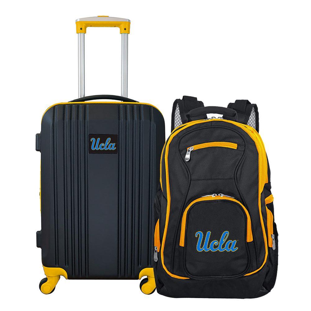 NCAA UCLA Bruins 2-Piece Set Luggage and Backpack