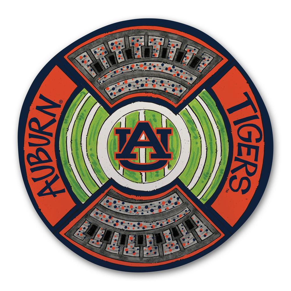 Auburn Football Stadium Melamine Platter