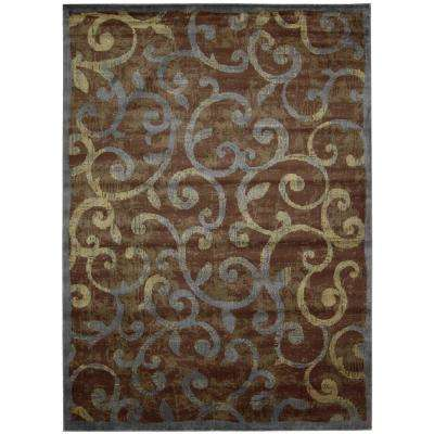 Expressions Multi 8 ft. x 11 ft. Area Rug