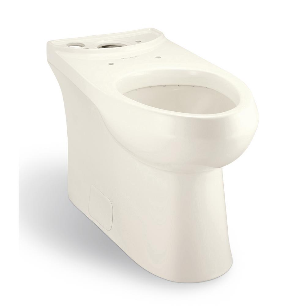 Concealed Trapway 1.1/1.6 GPF Dual Flush Elongated Toilet Bowl Only in