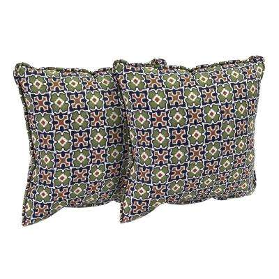 Fall River Moss Outdoor Throw Pillow (2-Pack)