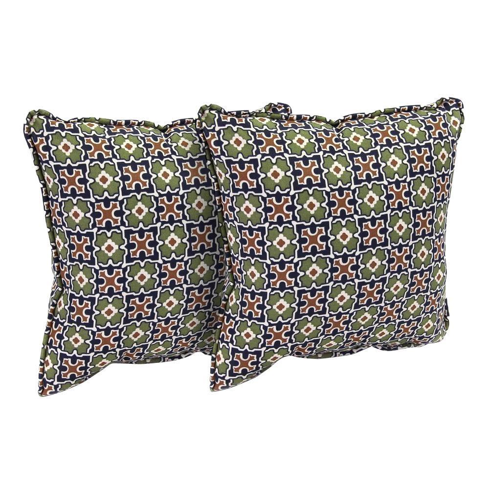 Fall River Moss Outdoor Throw Pillow (2-Pack)