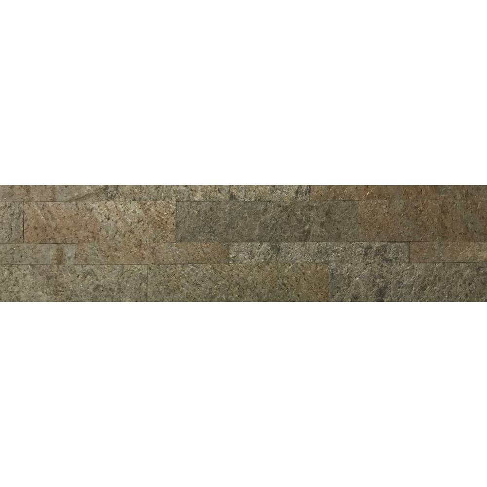Ultra Thin Series 6 in. x 24 in. Natural Stone Panel
