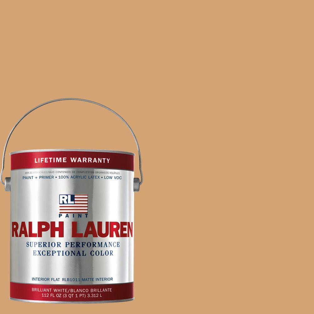 Ralph Lauren 1-gal. Imperial Yellow Flat Interior Paint