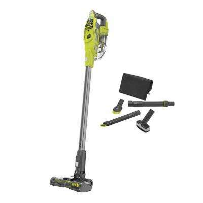 ONE+ 18V Cordless Compact Stick Vacuum Cleaner (Tool Only) with 4-Piece Vacuum Accessory Kit