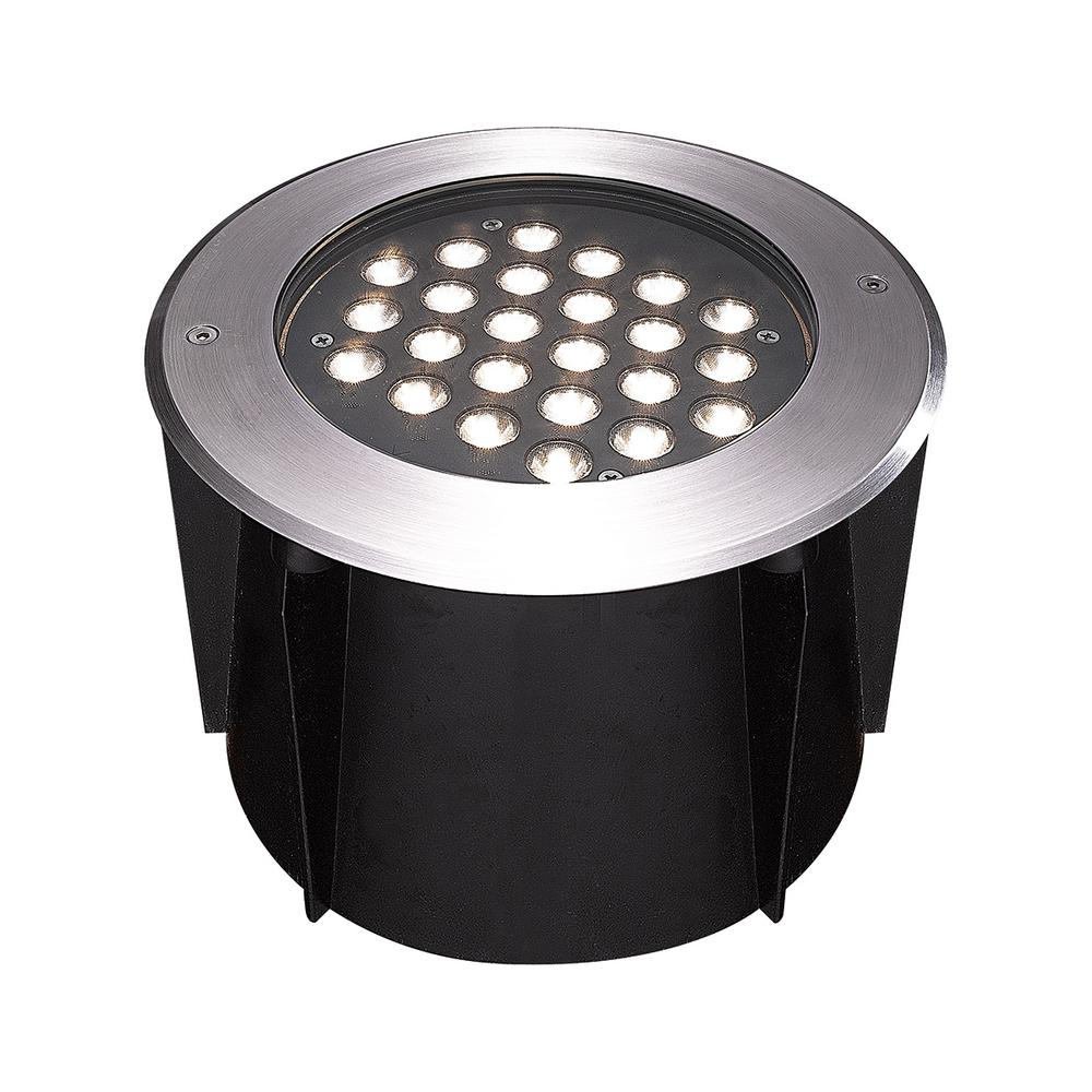 Eurofase 24 watt stainless steel outdoor integrated led landscape eurofase 24 watt stainless steel outdoor integrated led landscape well light mozeypictures Image collections