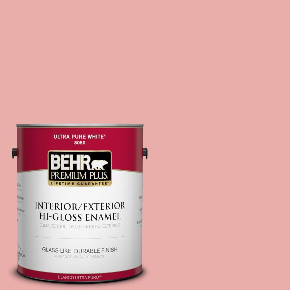 1-gal. #M160-3 Sweet Tart Hi-Gloss Enamel Interior/Exterior Paint