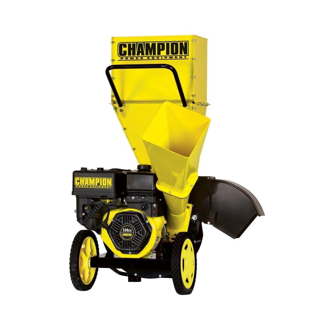 3 in. 338cc Gas Powered Chipper Shredder