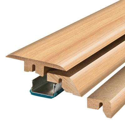 Vermont Maple/Northern Blonde 3/4 in. Thick x 2-1/8 in. Wide x 78-3/4 in. Length Laminate 4-in-1 Molding
