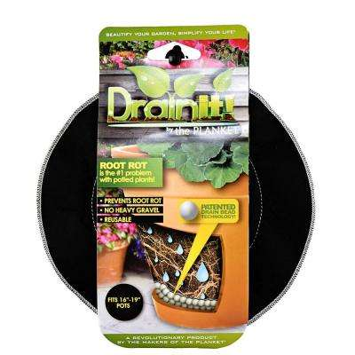 8 in. - 10 in. pot easy-flow drain disc