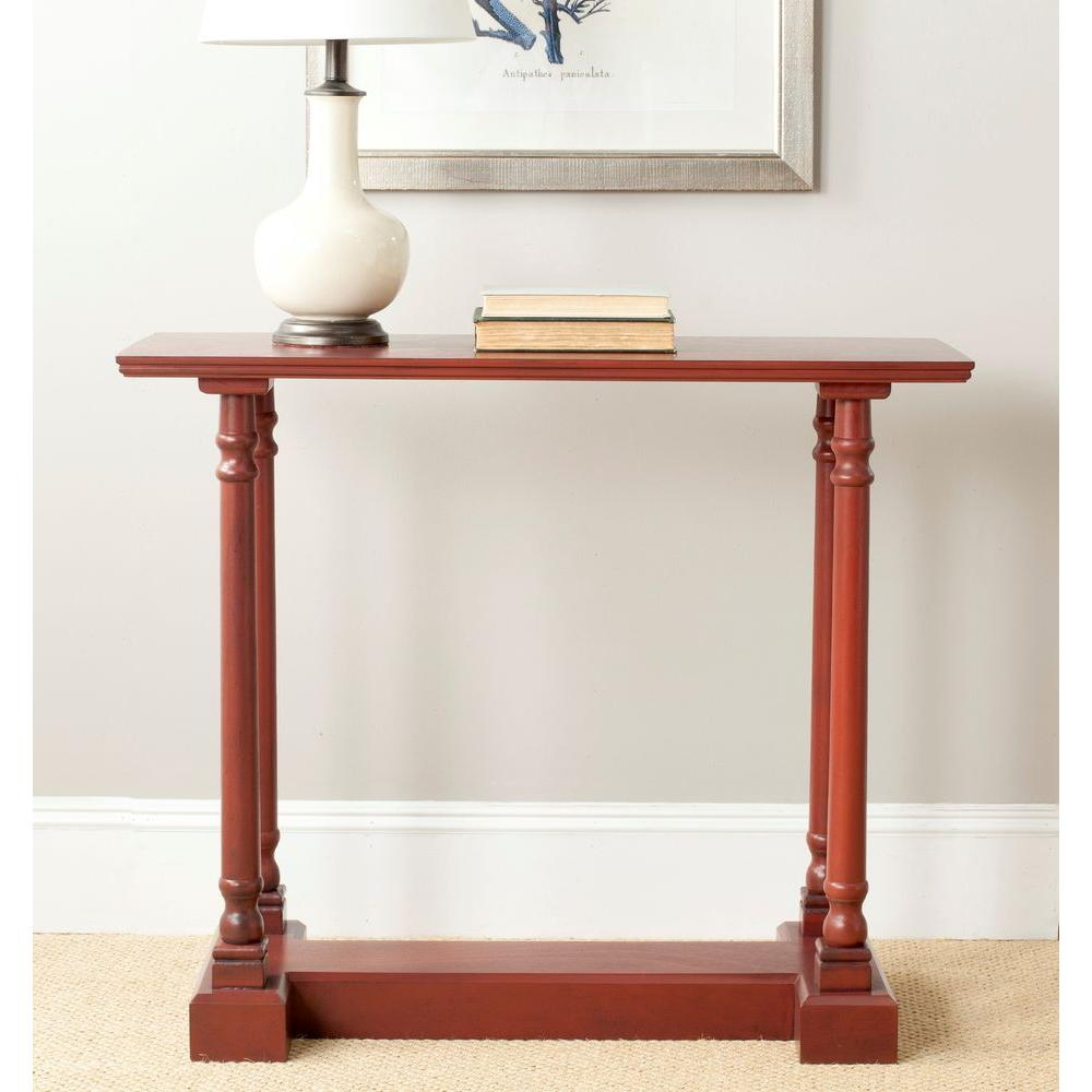 Safavieh Regan Red Console Table