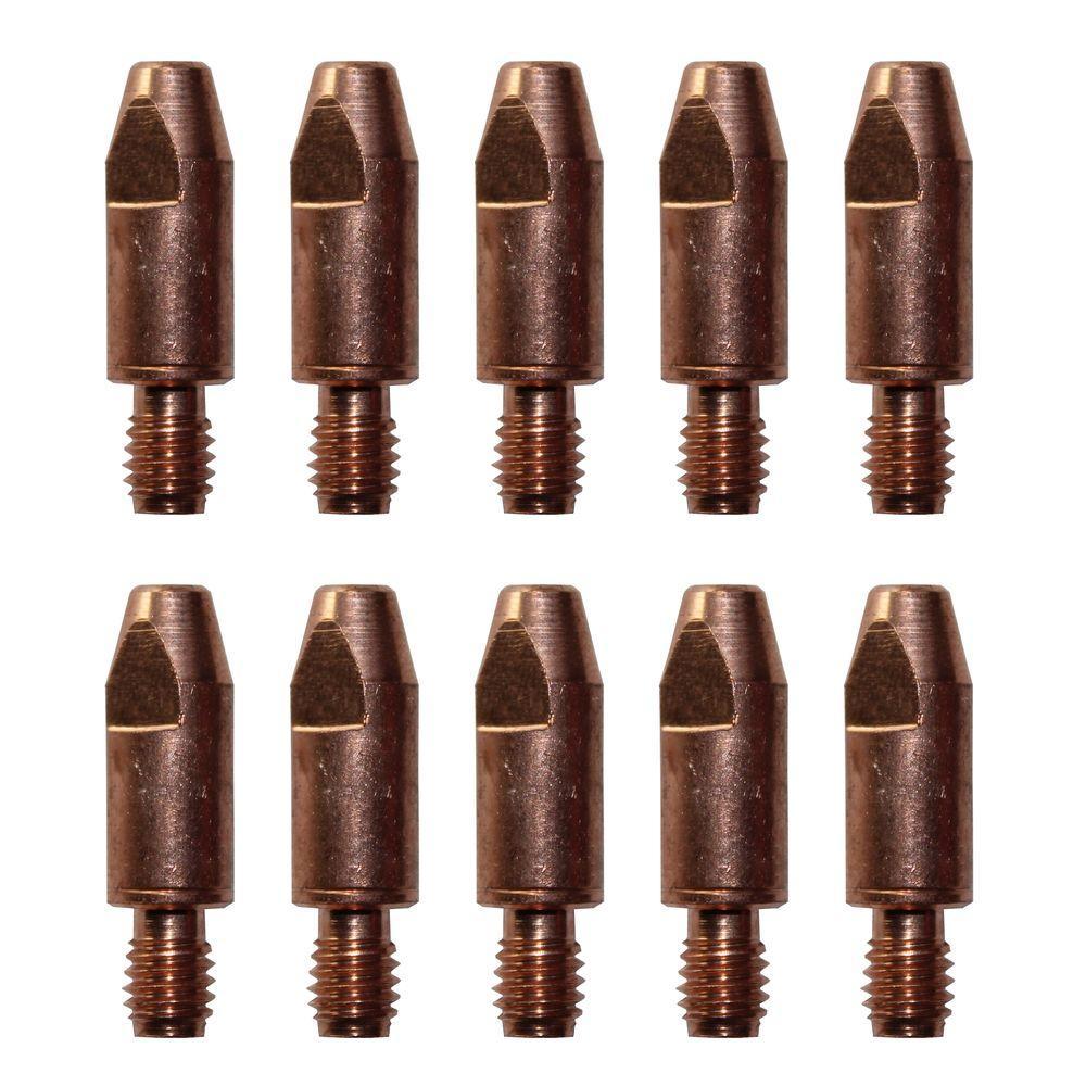 """10 pk Contact Tip 000-068 .035/"""" for Miller Hobart MIG Welding Gun 000068"""