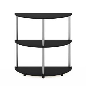Deals on Furinno Frans 32 in. Oak Standard Half-Circle Console Table