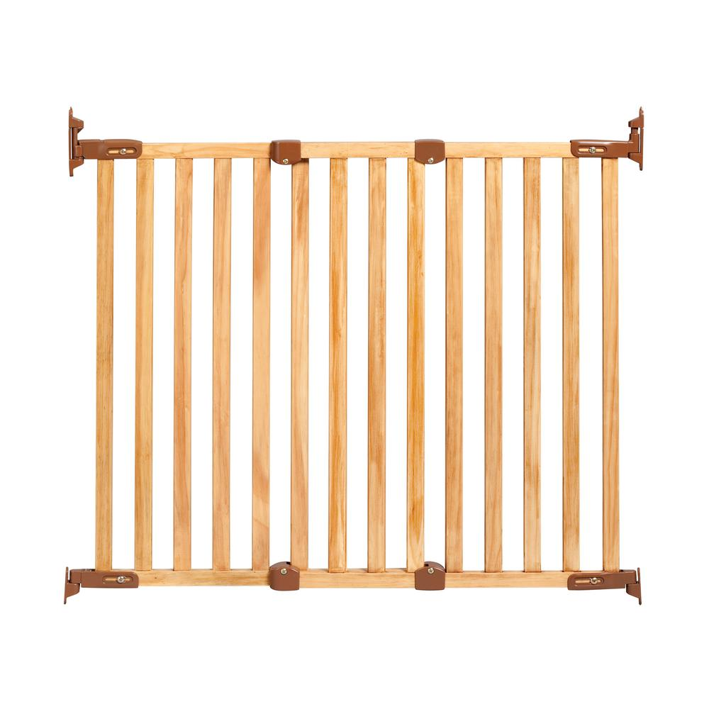 Kidco 31 In H Hardware Mount Gate Angle Mount Wood