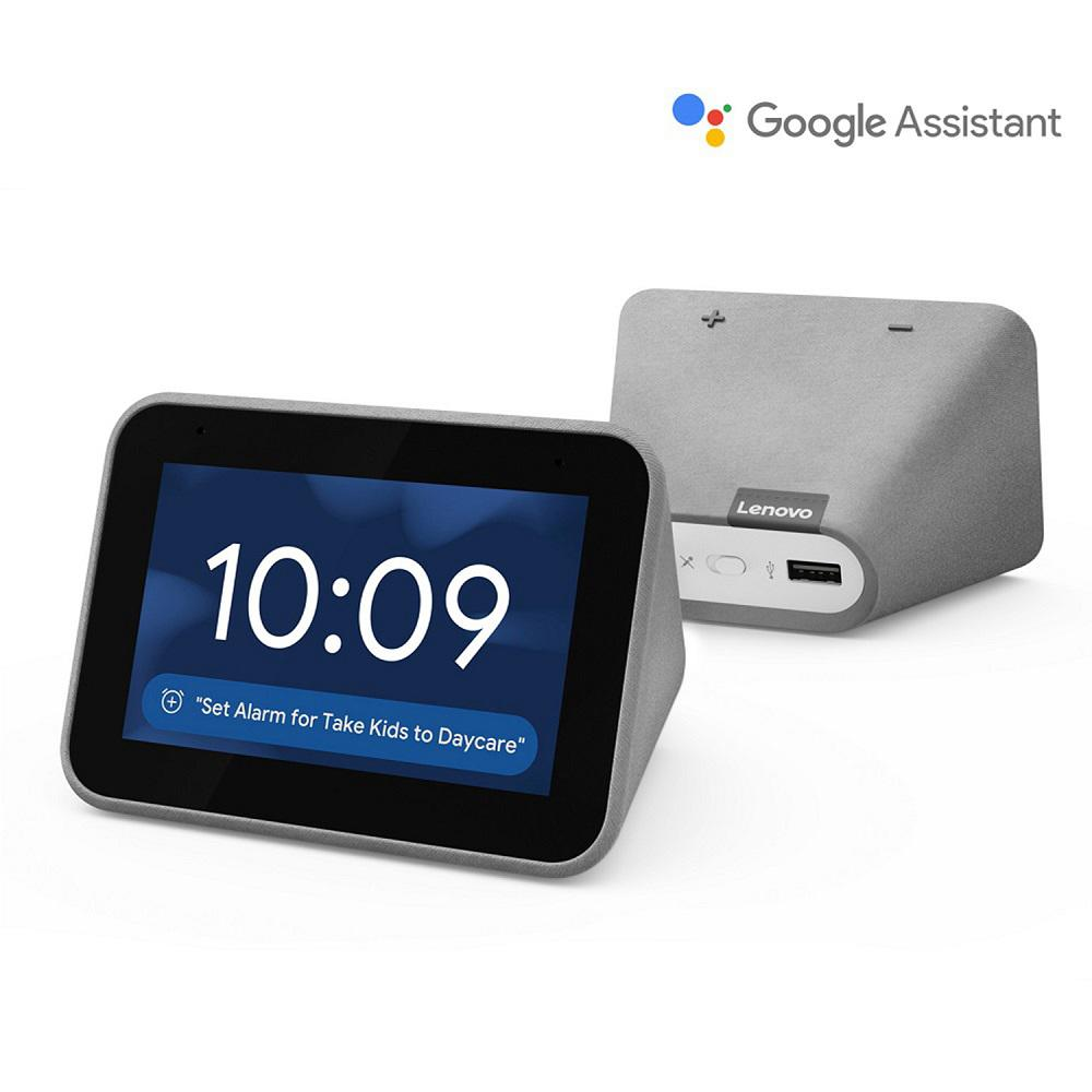 Lenovo Smart Clock with the Google Assistant, Gray was $78.21 now $49.99 (36.0% off)
