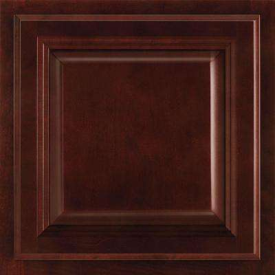 13x12-7/8 in. Cabinet Door Sample in Portland Cherry Bordeaux
