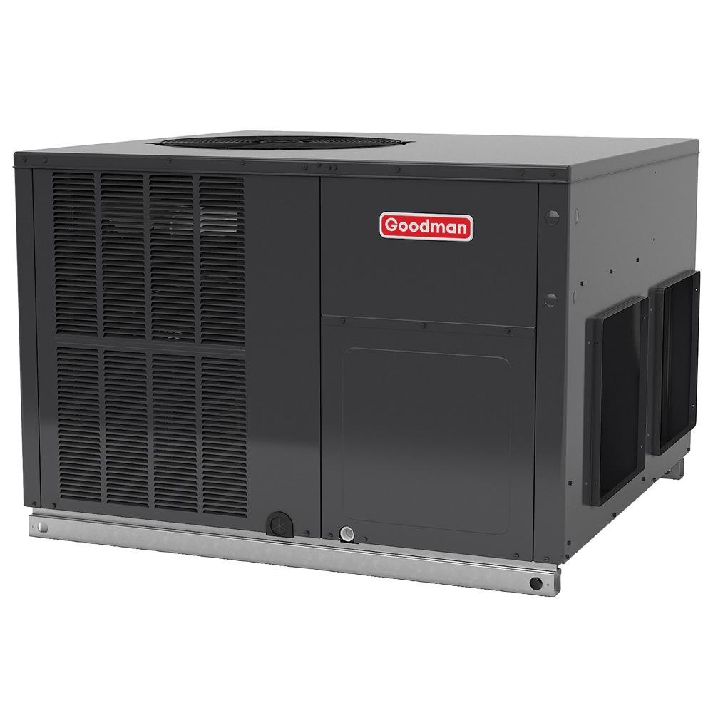 GOODMAN 4 Ton 16 SEER R-410A Horizontal Package Air Conditioner Heat Pump