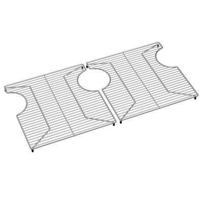 Crosstown Kitchen Sink Bottom Grid - Fits Bowl Size 29.25 in. x 15 in.