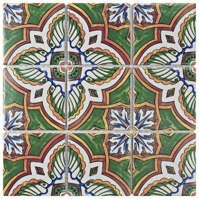 Affinity Monarch Stelenes 11-3/4 in. x 11-3/4 in. x 6 mm Porcelain Mosaic Tile