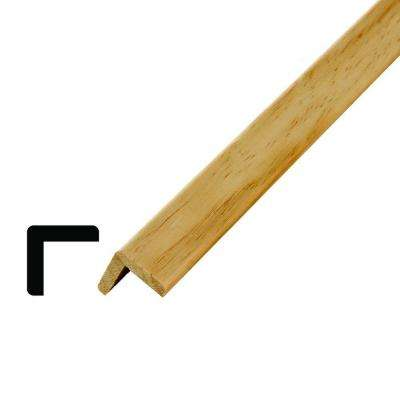 WM 205 1-1/8 in. x 1-1/8 in. x 96 in. Wood Pine Outside Corner Moulding