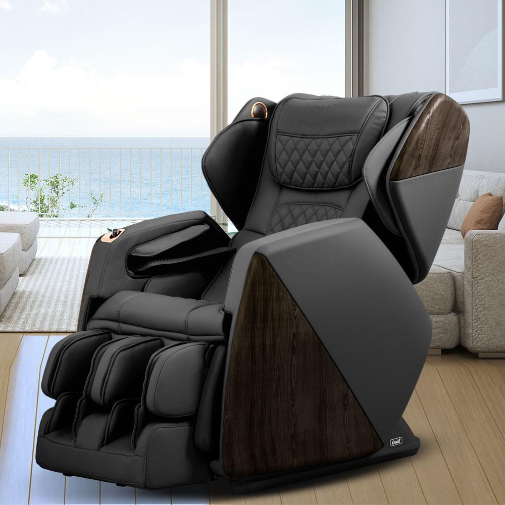 Pro Series Soho Black Faux Leather Reclining Massage Chair with Bluetooth Speakers and 4D Massage was $5999.0 now $3699.0 (38.0% off)