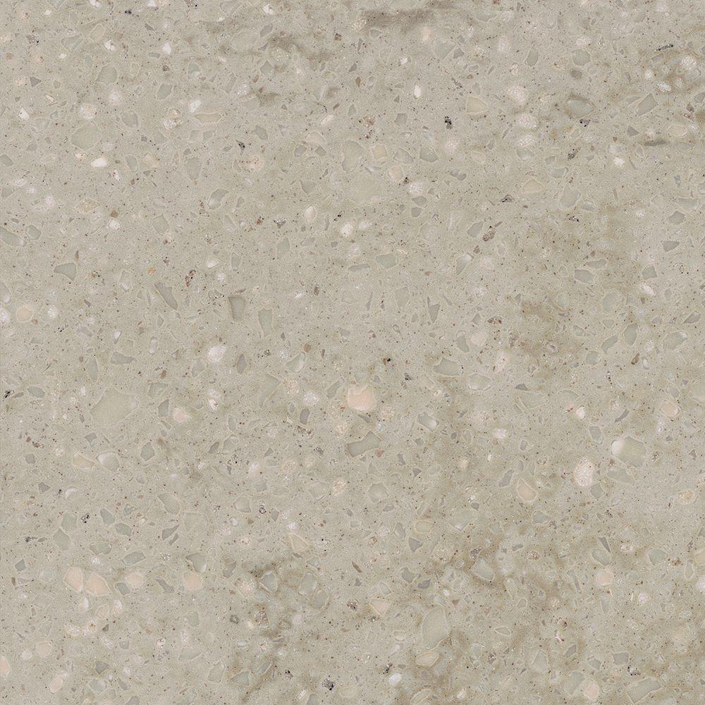 Corian 2 in. x 2 in. Solid Surface Countertop Sample in Sagebrush