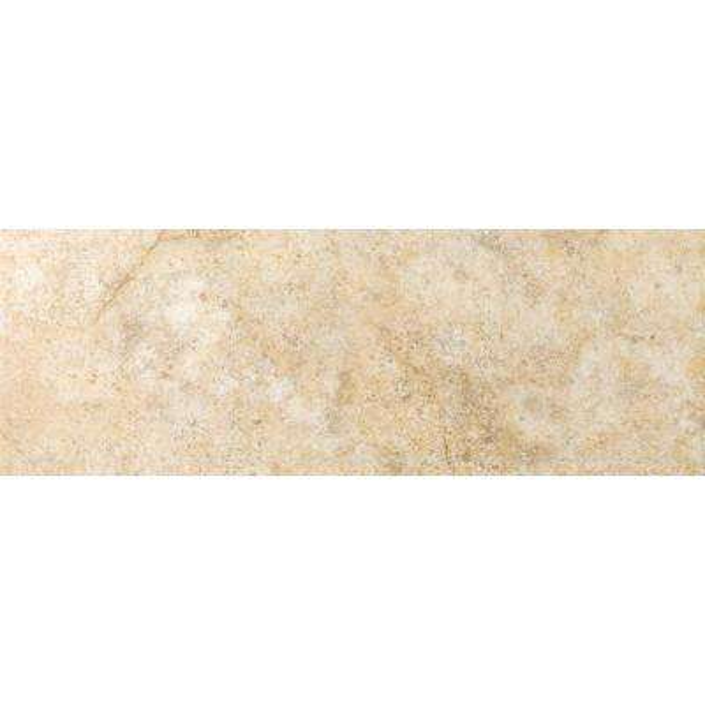 Toledo Beige 3 in. x 13 in. Single Bullnose Ceramic Floor and Wall Tile