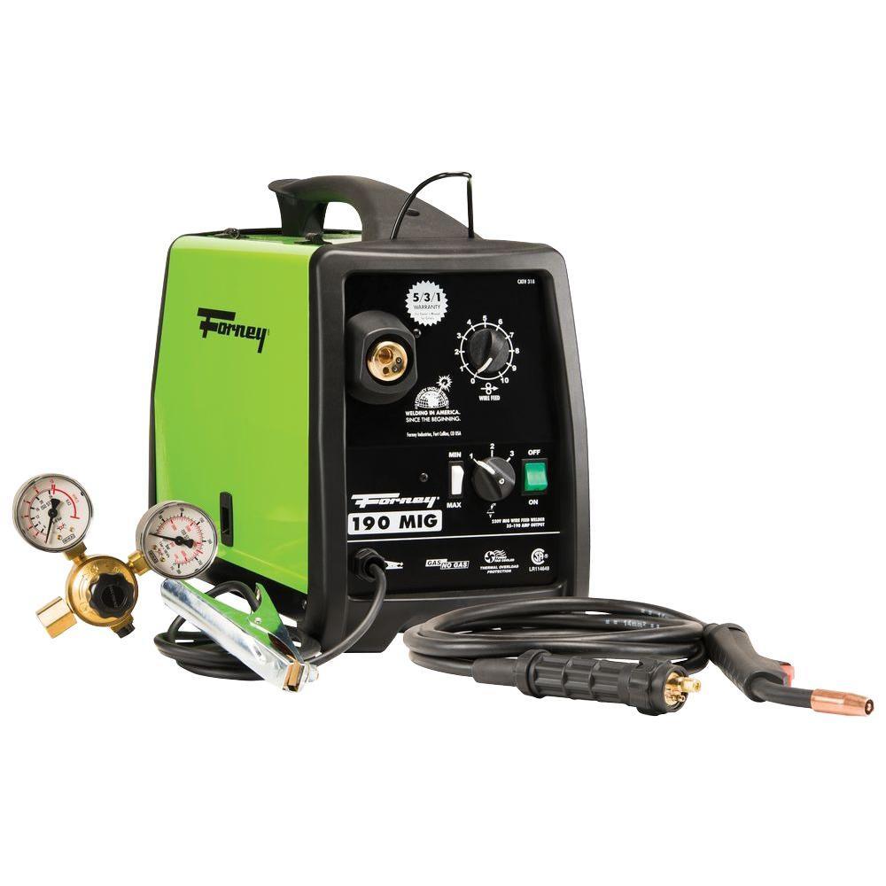 Forney 190 Amp 230-Volt MIG Welder