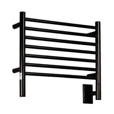 Jeeves H-Straight 20.5 in. W x 18 in. H 7-Bar Electric Towel Warmer in Oil Rubbed Bronze